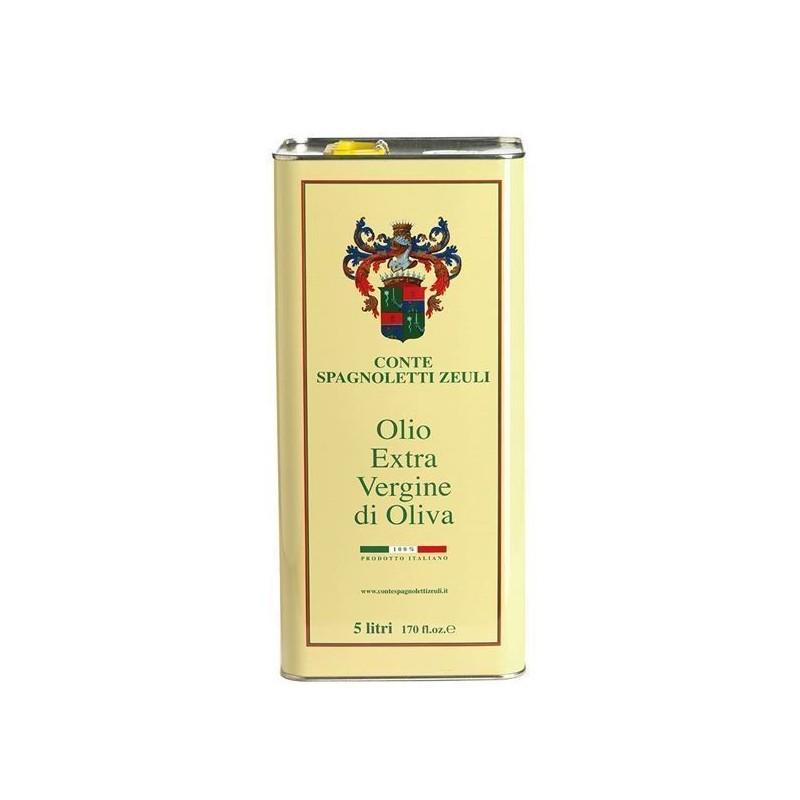 Olio Extravergine di oliva Fruttato Conte Spagnoletti Zeuli